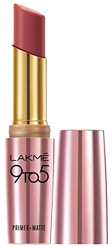 Lakme 9 to 5 Primer with Matte Lip Color, MP7 Rosy Sunday, 3.6g