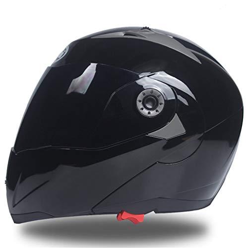Qianliuk Full Face Helm Safe Flip up Motorrad Motorcross Motorrad Helm Racing Motocross Mit Innen Sonnenblende
