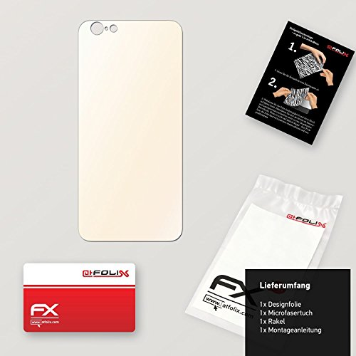 """Skin Apple iPhone 6 """"FX-Carbon-Red"""" Designfolie Sticker FX-Variochrome-Pearl"""