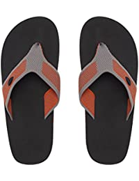 459766545 Amazon.co.uk  Orange - Flip Flops   Thongs   Men s Shoes  Shoes   Bags