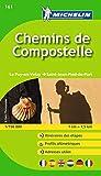 Carte ZOOM Chemins de Compostelle - Le Puy en Velay - St Jean Pied de Port...