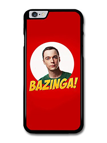 Big Bang Theory Bazinga Sheldon Cooper coque pour iPhone 6 Plus 6S Plus, Coques iphone