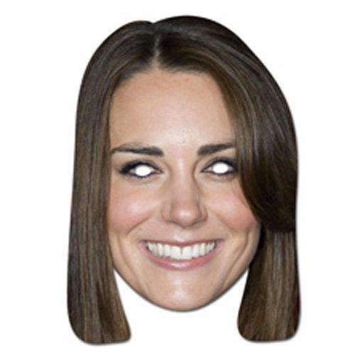 Party Maske - Party Maske Kate Middleton (Kate Middleton Kostüm)