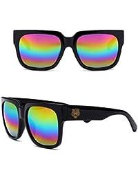 Fliegend Unisexe Rétro Vintage lunettes de Soleil Homme Femme Wayfarer  UV400 Lunettes de Soleil Square Polarized 34eb6450069e