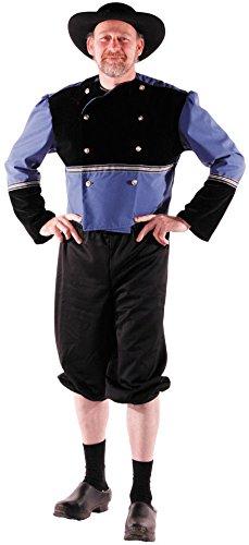 Kostüm Bretonne - Party Pro-873333--Kostüm Breton, Größe M/L