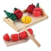 Happy People 45007 Wooden Fruit and Vegetables, Multi-Color
