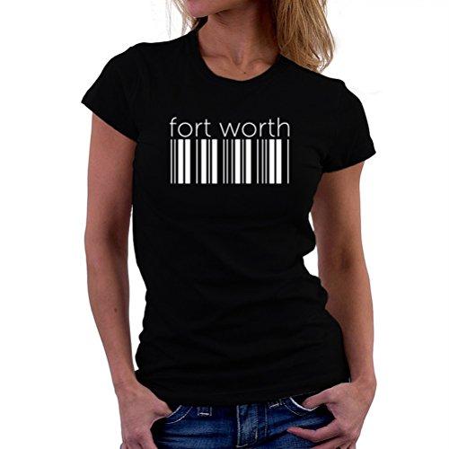 Maglietta da donna Fort Worth barcode
