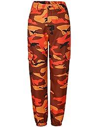 bd3812f9e9bbd Beauty Go Pantalon Camouflée Femme Pantalon Cool avec Multi-Poches