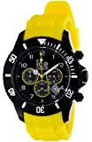 Ice-Watch Chronograph Black and Yellow Big Silicone Watch CH.BY.B.S.10