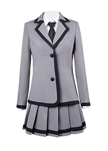 Preisvergleich Produktbild Assassination Classroom Ansatsu Kyoushitsu Kaede Kayano Cosplay Costume,Maßgeschneiderte,Größe M: Höhe 160cm-165cm