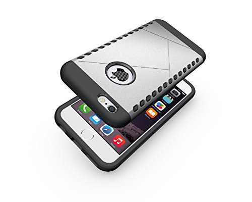 CruzerLite Spartan Dual Protection Hülle für Apple iPhone 6S Plus teal Silver