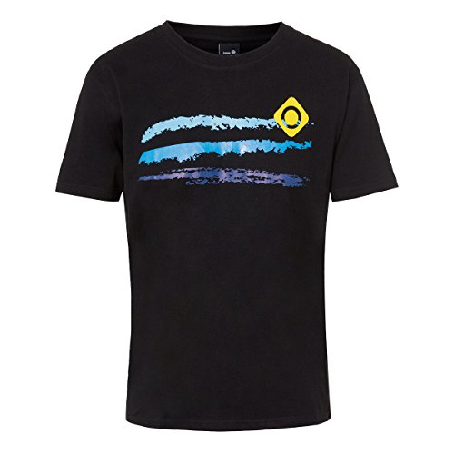 Izas Eiger Camiseta de Manga Corta, Hombre, Negro (Black), XXL