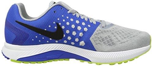 Nike Zoom Span, Chaussures de Running Compétition Homme Grau (WOLF GREY/BLACK-HYPER COBALT)