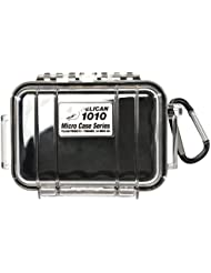 Pelican 1010 Micro Dry Case with Clear Lid - Black