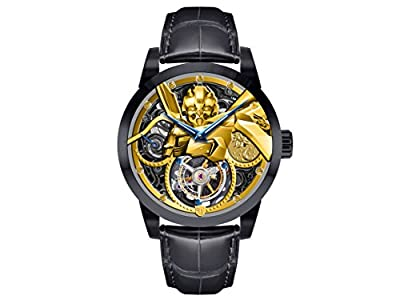 Memorigin Transformers Series Limited Edition Bumblebee Tourbillon Watch