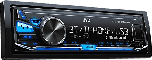 JVC KD-X341BT Digital Media-Receiver mit Freisprechfunktion und Audiostreaming über Bluetooth schwarz