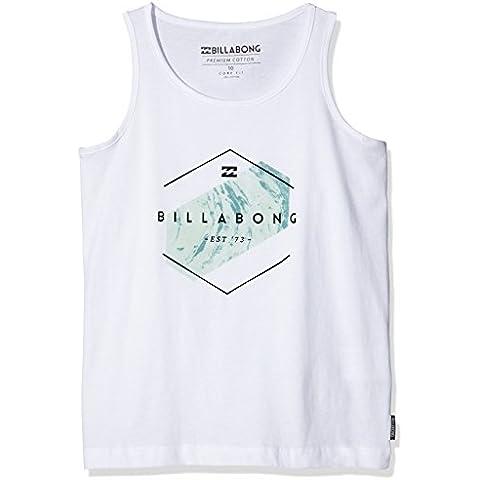 Billabong-Maglia da ragazzo Obstacle SG Bianco bianco 8 Years (Manufacturer