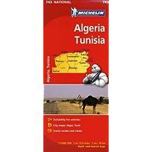 Michelin Map Algeria/Tunisia (Michelin Maps)