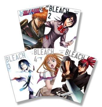 Bleach, Vol. 1-5 (Episoden 1-20) [5 DVDs]