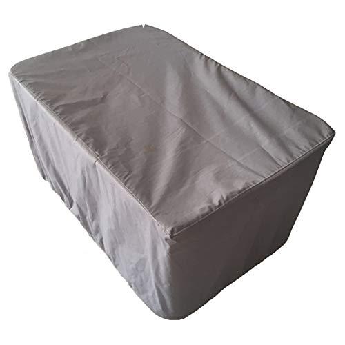 Dust Cover - Mobilier d'extérieur Dust Cover Table et Chaise de Jardin Forest Écran Solaire Tissu en Polyester Gris Anti-Pluie (Sélection de la Taille 12) Poussière d'isolement