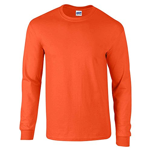 GILDANHerren T-Shirt Gelb - Orange