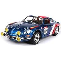 GAOQUN-TOY Renault A110 1600S Racing Retro Classic Car 1:24 Alloy Car Model