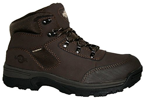 Northwest Territory Ladies Walking/Hiking Boot, Storm Fully Waterproof Lace UP Leather/Nylon Upper