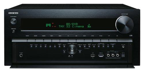 Onkyo TX-NR818 7.2-Kanal AV-Netzwerk-Verstärker (7.2 Kanäle, THX Select2 Plus, ISV, HQV, 4K, 180 W/Kanal) schwarz (Onkyo Stereo-receiver-fernbedienungen)
