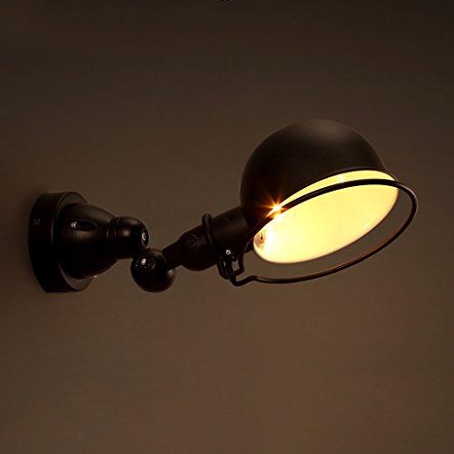 M-zen Puede ser girado Ajustable Vintage Industrial Sconce Lámpara de Pared Hallway Living Room Decoración...