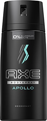 Axe Deospray Apollo ohne Aluminium, 3er Pack (3 x 150 ml)