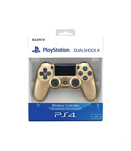 - 413EyVzvPaL - PlayStation 4 – DualShock 4 Wireless Controller, gold (2016)