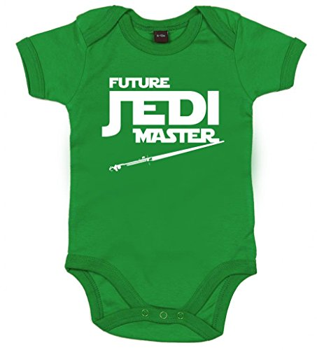 Image Vêtements bébé, Future Jedi Master, Body Bébé garçon, 6-12m, Vert