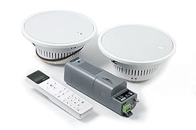 KBSound Eissound I-Select 5 Radio encastrable avec écran télécommandé et haut-parleur 2 voies 18 cm de KBSound