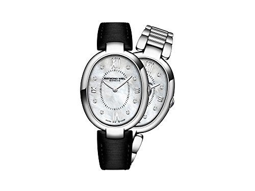 Montre à Quartz Raymond Weil Shine Ladies, Nacre, 8 Diamants, 29mm