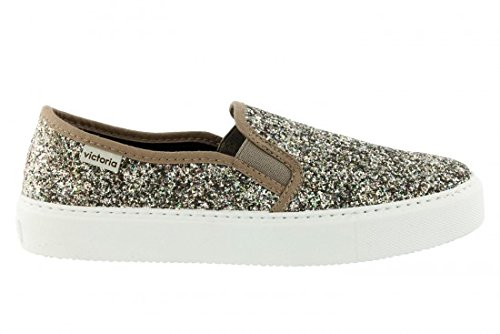 VICTORIA SLIP ON 25063 GLITTER COLOR ORO SIZE 38