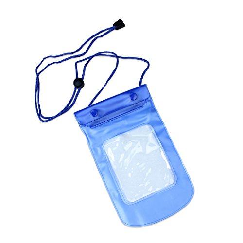 Caso impermeable subacuático bolsa del bolso del teléfono a prueba de agua caja del teléfono del bolso impermeable para las cámaras digitales Mp3 Teléfono
