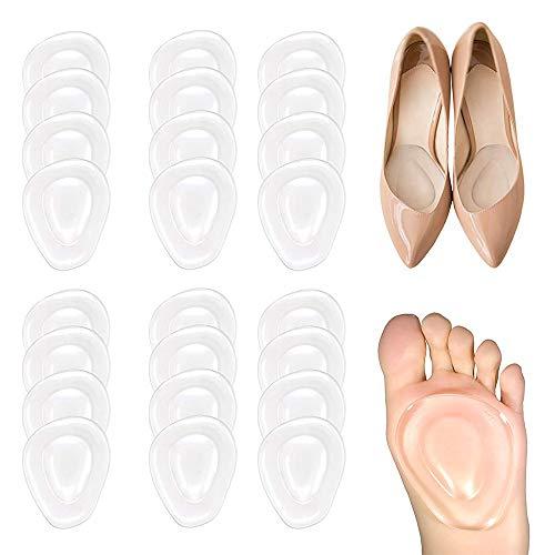 SITAKE 12 pares de almohadillas metatarsianas para pies - inserto de cojín de tacón alto para mujeres - almohadillas de apoyo cómodo para antepié para mujeres y hombres
