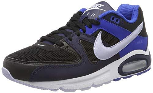 Nike Herren Air Max Command Laufschuhe, Schwarz (Black/Ghost/Blackened Blue/Game Royal/White 048), 38.5 EU