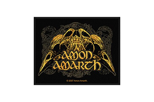 Amon Amarth-Raven Skull [Patch/Toppa, Tessuta] [sp2231]
