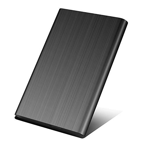 Neeta Disque Dur Externe 2To USB 3.0 HDD Stockage pour PC, Mac, Desktop, Laptop, MacBook, Chromebook, Xbox One, Xbox 360 (2 to, Noir)