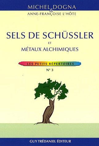 Sels de Schüssler et métaux alchimiques