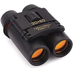 ZOGIN Sakura 30X60 Zoom Mini Binoculares Prismáticos Portátil para la Visión Nocturna - Ideal para Conciertos Partido de Fútbol Camping Caza Ect