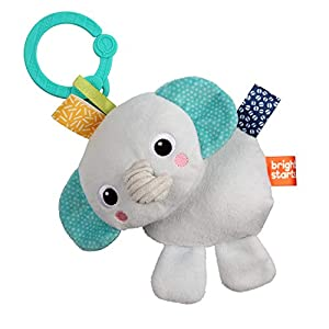 Bright Starts- peluche, Color grey (Kids2 12295)