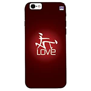 Love - Mobile Back Case Cover For Apple Iphone 7 Plus
