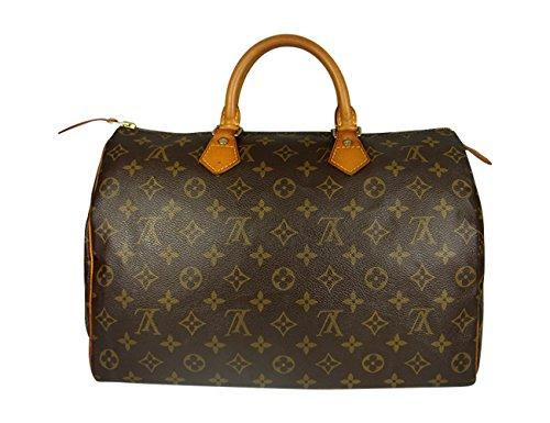 Gepflegte & garantiert Original, Geld zurück Garantie auf die Originalität, Louis Vuitton Speedy 30 oder 35 Monogram M41524 - M41526 (35er-M41524) (Handtaschen Handtaschen Louis Vuitton)