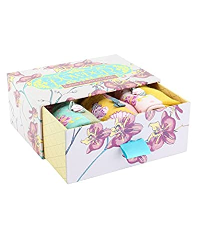 Ladies Bamboo Sock Gift Box Orchid Mix from Powder