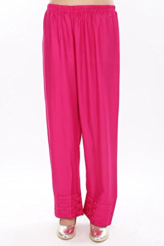 PINK almirah Women Solid Fuchsia Salwar  available at amazon for Rs.299