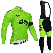 Amazon.es  equipacion ciclismo - Verde daf9f30ed64db