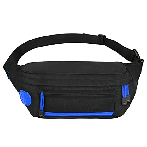 Ryaco [Big Pocket] R907 Sport Waist Pack, Outdoor Sports Waist Bag, Bum bag, Sport Running belt, Exercise Runner Belt, Fitness Workout Belt, Race Belt, Workout Pouch, for Sports Men and Women, Fits iPhone 7/7 plus, 6 / 6S 6 plus, 6S Plus, Samsung Galaxy S5, S6, Note 4, 5, LG G3/G4 Suitable for Hiking, Climbing, Jogging, Hunting