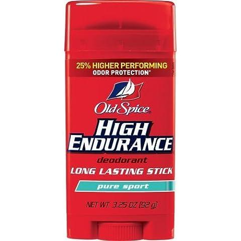 4x Old Spice High Endurance PURE SPORT Scent Long Lasting Stick Deodorant direkt aus den USA